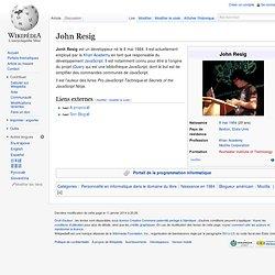 John Resig