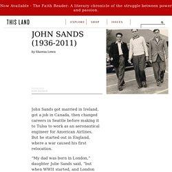 John Sands (1936-2011)