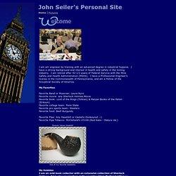 John Seiler's Personal Site
