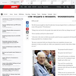 John Wooden's greatest quotes