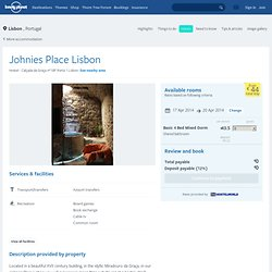 Johnies Place Lisbon in Lisbon, Portugal
