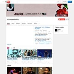 johnlegendVEVO's Channel