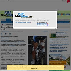 Johnny Hoogerland To Sue Over Tour De France 2011 Crash