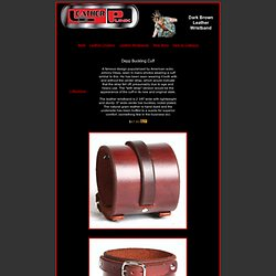 Johnny Depp Leather Wristband, Dark Brown Leather Cuff