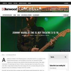 The El Rey Theatre 3/5/16
