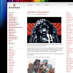 Judas Priest and Doug Johnson - The Official Blog of Artamax Design Studio