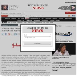 Woman Sues Johnson & Johnson in Possible $1.7 Billion Class Action Suit