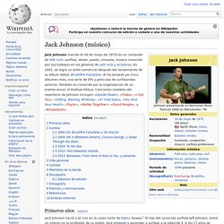 Jack Johnson (músico)