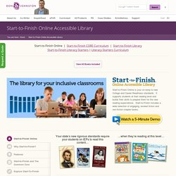 Start-to-Finish Online Accessible Library