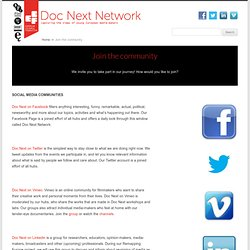 Join the community - Doc Next Network