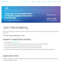Join Fabricademy