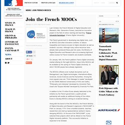 Join the French MOOCs