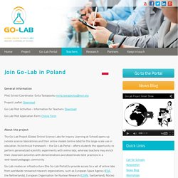 Join Go-Lab in Poland