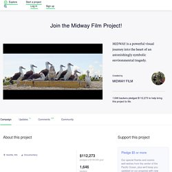 Join the Midway Film Project! by MIDWAY FILM