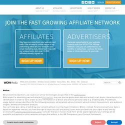 Join our Affiliate Network - WOW TRK