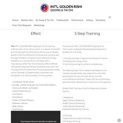 Golden Rishi Qigong and Tai Chi