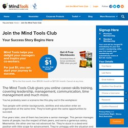 Join the Mind Tools Club!