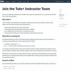 Submit a Tutorial « Aetuts+