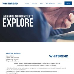 Join Us : Whitbread Careers