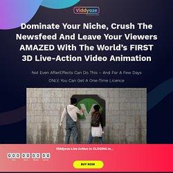 Join Viddyoze - Limited Time Offer