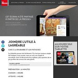 Joindre l'utile àl'agréable - La Presse+