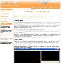 Joindre deux parties d'une video avec virtualdub