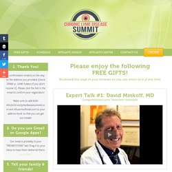 Thank You for joining the Summit! (read on for access to your free bonuses) - Chronic Lyme Disease Summit