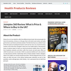 Jointplex 360 Review: What is Price & Where to Buy in the UK?