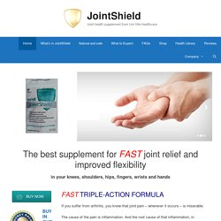 JointShield – Joint health supplement from Uni-Vite Healthcare