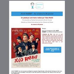 JOJO RABBIT : satire sur l'Allemagne nazie- Au cinéma le 29 janvier