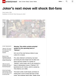 Joker's next move will shock Bat-fans