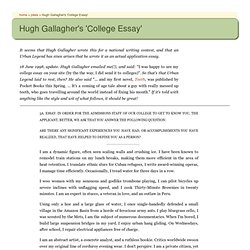 hugh gallagher essay hugh gallagher college essay pdf perghgce 9 2