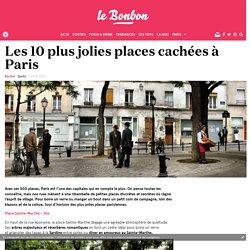 Les 10 plus jolies places cachées à Paris