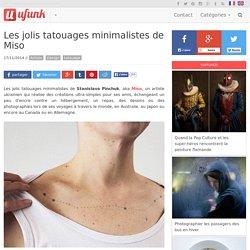 Les jolis tatouages minimalistes de Miso