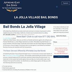 La Jolla Village Bail bonds