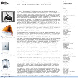 Jonathan Ive / 25/25 - Celebrating 25 Years of Design