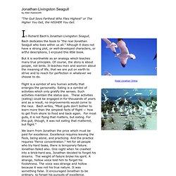 characterization of the protagonist in richard bachs novel jonathan livingston seagull Jonathan livingston seagull young jonathan livingston frustrated jonathan livingston seagull, by richard bach is a metaphorical characterization is the.