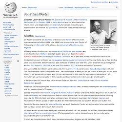 Jonathan Postel