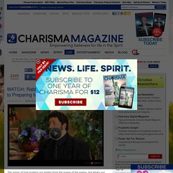 WATCH: Rabbi Jonathan Cahn Gives the Keys to Preparing for an Enemy Attack — Charisma Magazine