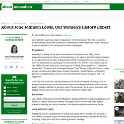 Jone Johnson Lewis - Bio