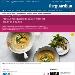 Anna Jones' quick and easy recipes for beans and pulses