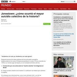Jonestown: ¿cómo ocurrió el mayor suicidio colectivo de la historia? - BBC Mundo