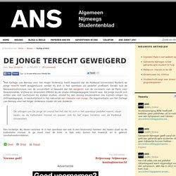De Jonge terecht geweigerd 17/04/2007