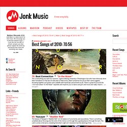 Jonk Music: Best Songs of 2010: 70-56