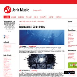 Jonk Music: Best Songs of 2010: 100-86