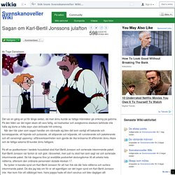 Sagan om Karl-Bertil Jonssons julafton - Svenskanoveller Wiki - Wikia