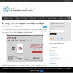 Joomag, créer un magazine numérique en ligne