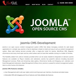 Joomla CMS Development, Custom Joomla CMS Web Development
