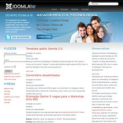 Joomla RJ - tutorial joomla - joomla modulos - joomla extensions