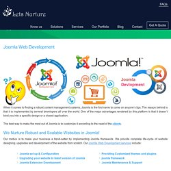 Joomla Web Development, Joomla Module Development, Hire Joomla Developer